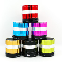 Wireless Bluetooth Speaker Mini Portable Stereo Speakers Subwoofers S26 Music Player With MIC TF Card metal speaker