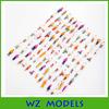 plastic material 1:150 figure for architectural scale model figure