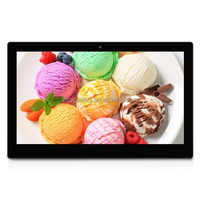 sex video playback digital picture frame 17inch LCD HD Touch Screen Android 4.4 Digital Picture Frame with Holder