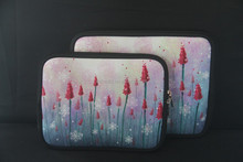 laptop neoprene protective sleeve case with colorful painting
