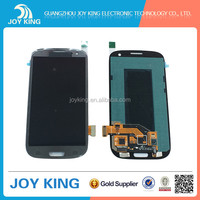 Replacement LCD assembly with frame For Samsung galaxy s1 i9000 white