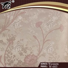 Eco-friendly fashion design china vinyl wallpaper/ interior wall panels
