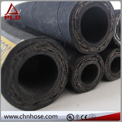 used car and truck accessory single high tensile steel wire braid oil resistant synthetic rubber hydraulic rubber hose