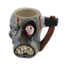 Unique Zombie Head Wholesale Custom Made Coffee Mugs