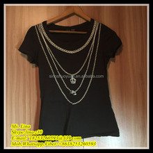 wholesale used items t-shirt lady