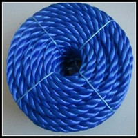 Plastic recycle PP rope for sale