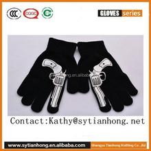 Women/men Knitted Wool Hand Wrist Warmer Fingerless Winter Screen feeling Gloves
