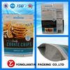 Hot Roast Chicken Bags/Food standing plastic ziplock bag roast meat packaging