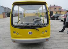 2015 New Environmental Protection Electric Car Sedan with Low Price open top sightseeing bus