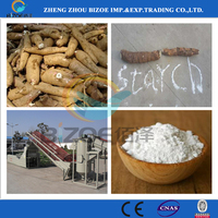 Hot Selling Small Scale Cassava Starch Production Machine
