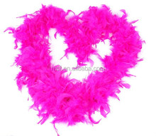 wholesale cheap scarf pink feather boas FW-0052