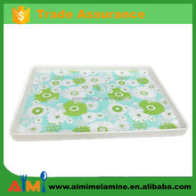 High quality plastic melamine cutlery tray with competitive price