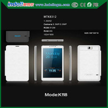 K118 Hot sale,tablet with sim card slot/ dual core 7 inch 3g android tablet pc/ mini laptop computer