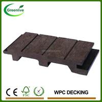 Interlocking Outdoor Removable Solid Wood Plastic Laminated Flooring