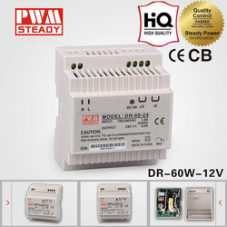 DR-60-12 60W 12V 6.3A Din Rail Switching Power Supply Power Supply