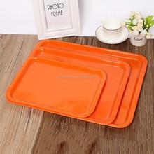 plastic tebleware rectangle food tray melamine The cake pan
