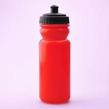 deportes de plástico botellones de agua para beber con tapa 600ml