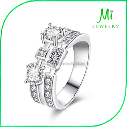 Amazon jewelry wholesale 925 silver jewelry fashion European and American popular couple rings