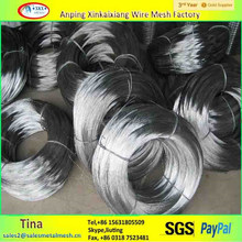high quality bwg 8 electric galvanized flat iron wire (direct supplier ,factory )