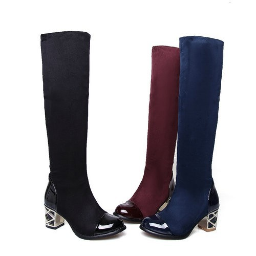 VINLLE 2015 Fashion Arrivals Snow Martin Boots For Women Over The