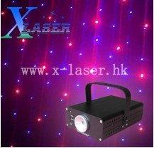 Mini club disco red voilet color laser light show