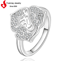 Hot sale wedding jewelry ring muslim