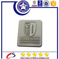Personalized metal Square name badge