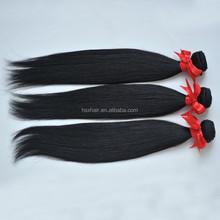 Natural color hair extension Brazilian micro loop hair extension brazilian virgin hair extension bags