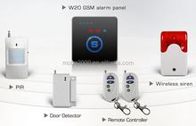 GSM smart key home alarm security system W20