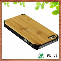 Worknet Germany QC standard natural bamboo cell phone case for iphone 6 6plus