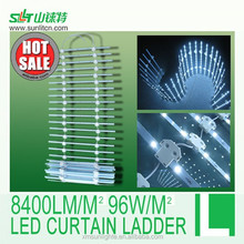 LED aluminum frame backlighting