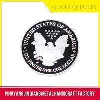 Promotional gift decorative metal hard enamel challenge coin