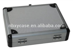 china factory supply silver aluminum briefcase tool box
