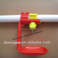 Automatic Chicken Water Trough For Poultry Drinker Equipment