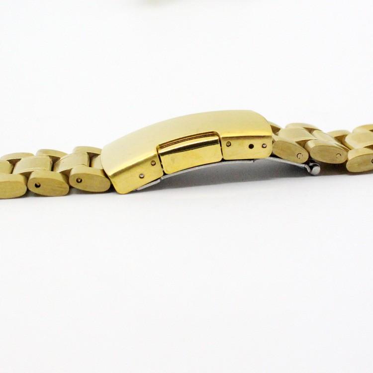 Золотые браслеты к часам 18 мм