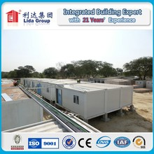 Hot Sale standard 20 feet Container House Camping House for qatar