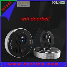 Apartment/home WIFI IP wireless intercom system 10m IR night vision two way communication Viewing via Android and iOS APP