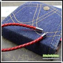 B0223 End Match Leather Bracelet Clasps, Fit 20mm*10mm, Dia.3 4 5 6 7 8 mm