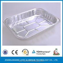 Disposable oven and microwave foil dishes