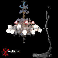 Murano Chandelier original color of glass
