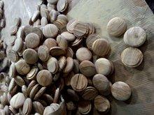 Produtos de madeira processo tampa tampa do copo não terminou peças artigos semi acabado