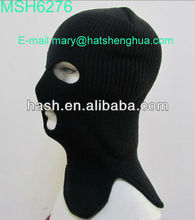 New Knit Acrylic Balaclava custom ski face mask hat (MSH6276)
