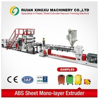 price of plastic sheet extrusion machine for ABS.PC material