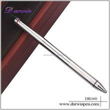 New model ball pen metal ballpoint pen double-end pen