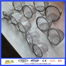 mesh filter piece/mesh filter net cap/small mesh filter with border