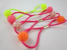 Hair Decoration OEM/ODM Service Fashion Hair Accessory,Elastic Hair Rope for Girls Dubaa Fashion