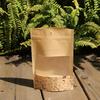 Custom order resealable kraft paper Nuts Packing bags