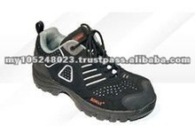 Lace UP Black Lightweight Safety Shoes