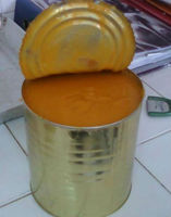 Canned mango pulp juice