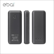 Shenzhen ebai factory wholesale original 6000mah li-polymer battery portable universal power bank with fc ce rohs